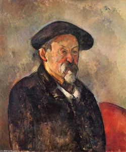 Paul Cezanne - Self-Portrait with Beret