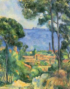 Paul Cezanne - View of L'Estaque and Chateaux d'If