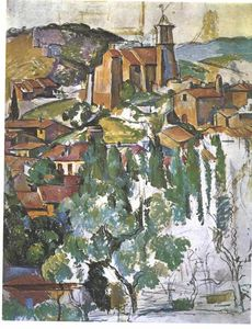 Paul Cezanne - View of Gardanne