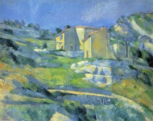 Paul Cezanne - Houses at the L'Estaque