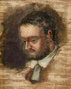 Paul Cezanne - Portrait of Emile Zola