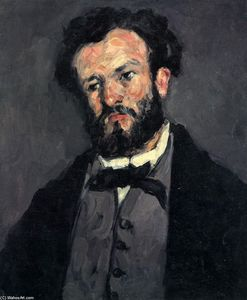 Paul Cezanne - Portrait of Anthony Valabregue