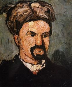 Paul Cezanne - Portrait of Uncle Dominique in a Turban