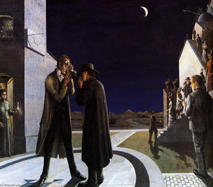 Paul Delvaux - Phases of the Moon III
