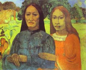 Paul Gauguin - Mother and Daughter