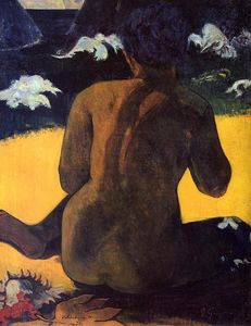 Paul Gauguin - Woman by the sea
