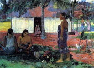Paul Gauguin - Why Are You Angry-