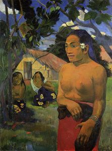 Paul Gauguin - Where are you going?