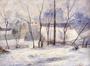 Paul Gauguin - Winter Landscape