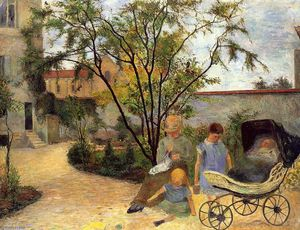 Paul Gauguin - Garden In Rue Carcel