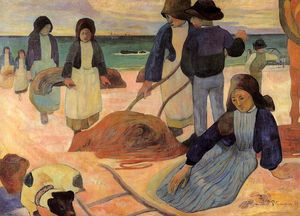 Paul Gauguin - The Kelp Gatherers