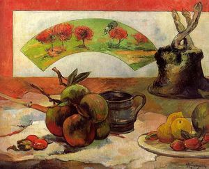 Paul Gauguin - Still Life with a Fan