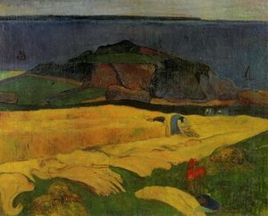 Paul Gauguin - Seaside harvest