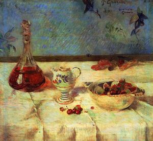 Paul Gauguin - Still Life with Cherries