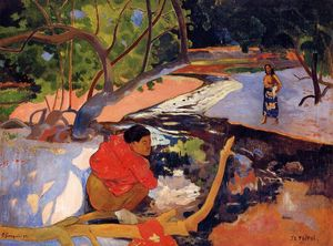 Paul Gauguin - The morning