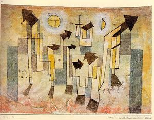 Paul Klee - Wall Painting from the Temple of Longing