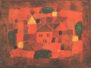 Paul Klee - Landscape with Sunset