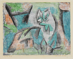 Paul Klee - A kind of cat