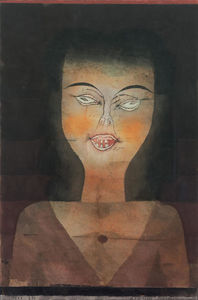 Paul Klee - Possessed girl