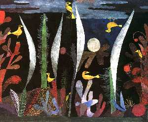 Paul Klee - Landscape with Yellow Birds