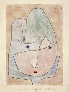 Paul Klee - This flower wishes to fade