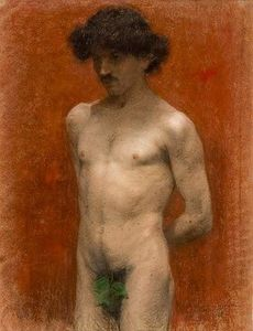 Paul Mathiopoulos - Male nude