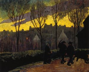 Paul Serusier - Evening