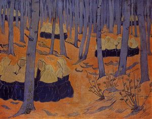Paul Serusier - Breton Women, the Meeting in the Sacred Grove