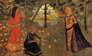Paul Serusier - The Youth of Queen Anne
