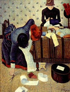 Paul Signac - The Milliner