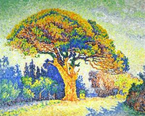 Paul Signac - The Pine Tree at St. Tropez