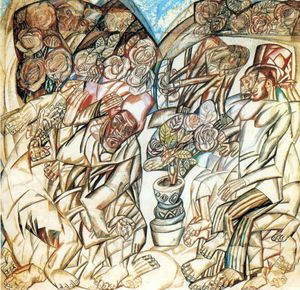 Pavel Filonov - The Gardener
