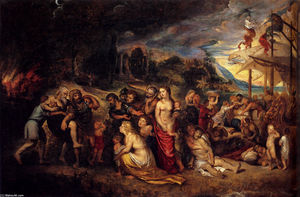 Peter Paul Rubens - Aeneas And His Family Departing From Troy