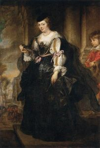 Peter Paul Rubens - Portrait of Helene Fourment with a Coach