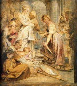 Peter Paul Rubens - Achilles and the Daughters of Lykomedes