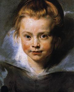 Peter Paul Rubens - Portrait of Clara Serena Rubens