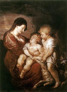 Peter Paul Rubens - Virgin and Child with the Infant St. John