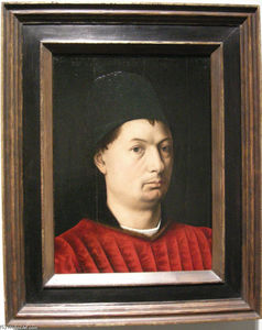 Petrus Christus - Portrait of a man