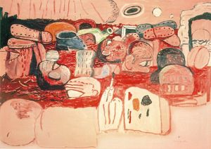 Philip Guston - Deluge II