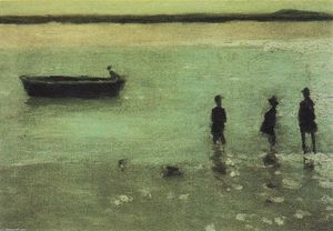 Philip Wilson Steer - Beach at Etaples