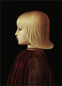 Piero Della Francesca - Portrait of a boy