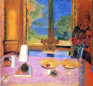Pierre Bonnard - Dining Room on the Garden