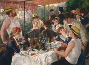 Pierre-Auguste Renoir - The Luncheon of the Boating Party