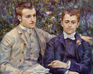 Pierre-Auguste Renoir - Portrait of Charles and Georges Durand Ruel