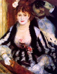Pierre-Auguste Renoir - The box