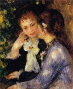 Pierre-Auguste Renoir - Confidences