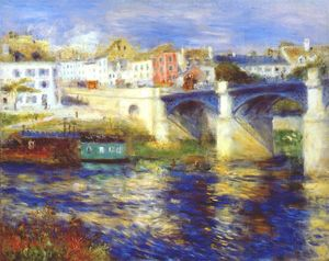 Pierre-Auguste Renoir - The bridge at chatou