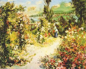 Pierre-Auguste Renoir - The greenhouse