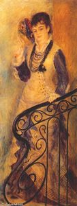 Pierre-Auguste Renoir - Woman on a Staircase