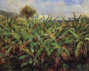 Pierre-Auguste Renoir - Field of Banana Trees